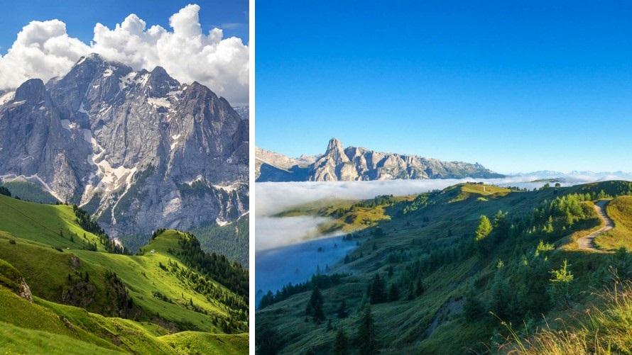 Trekking nas Dolomitas