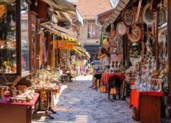 Baščaršija in Sarajevo, Bosnia and Herzegovina