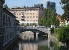 Centro de Liubliana - cidade de pontes