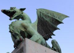 Ponte do Dragão - símbolo da cidade
