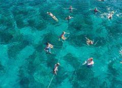 Aguas cristalinas del mar Adriático