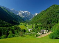 Logarska - um dos vales mais bonitos nos Alpes
