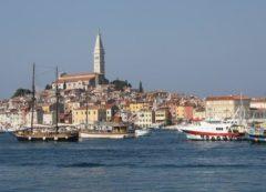 Rovinj no litoral croata