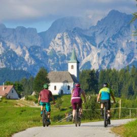 passeio de bike na eslovênia